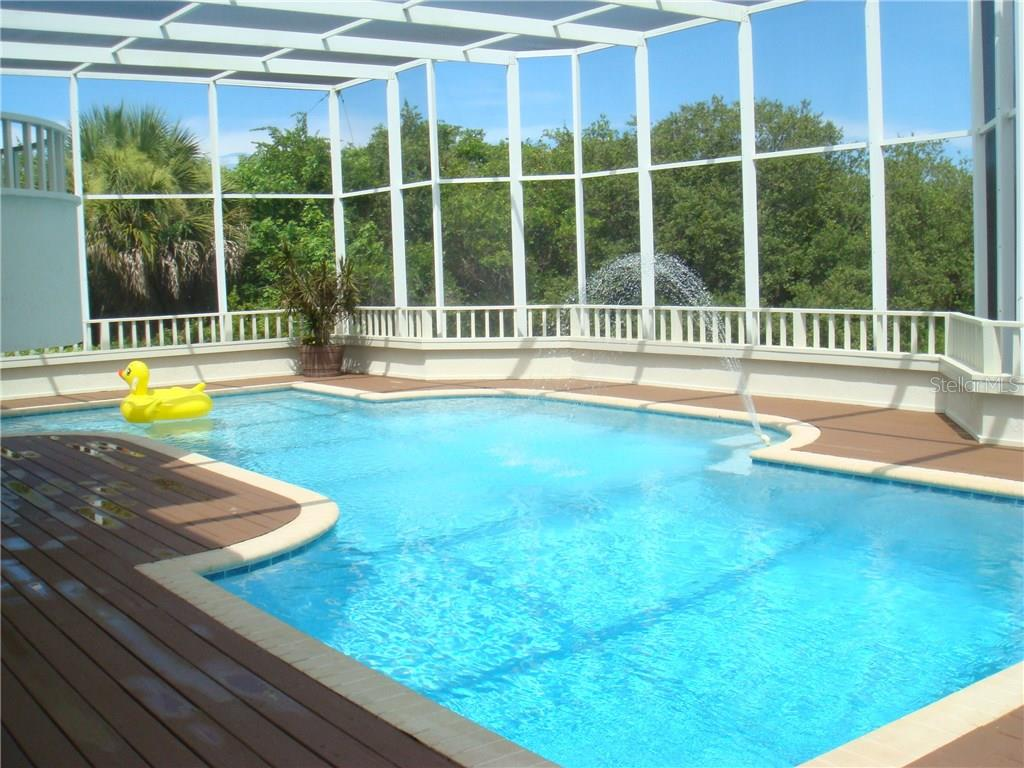 Rear view from dock - Single Family Home for sale at 9711 Eagle Preserve Dr, Englewood, FL 34224 - MLS Number is D5796719