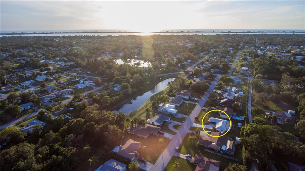 See the Gulf of Mexico waiting for you out there?  You are just under 4 miles to Englewood Beach. - Single Family Home for sale at 360 E Wentworth Cir, Englewood, FL 34223 - MLS Number is D5921470