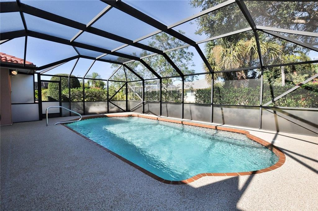Pool lanai area - Single Family Home for sale at 9 Pine Ridge Way, Englewood, FL 34223 - MLS Number is D5921839