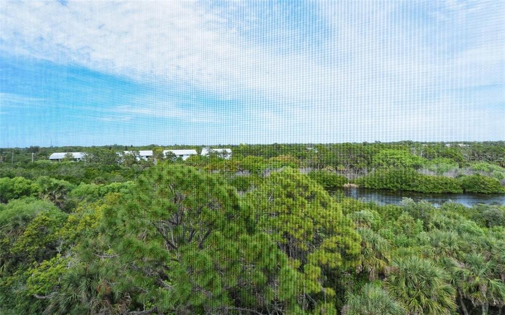 Private and serene view of preserve and creek. - Condo for sale at 8561 Amberjack Cir #402, Englewood, FL 34224 - MLS Number is D5923600
