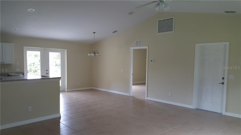 Another view of the Living room area. - Single Family Home for sale at 7385 Teaberry St, Englewood, FL 34224 - MLS Number is D6101274