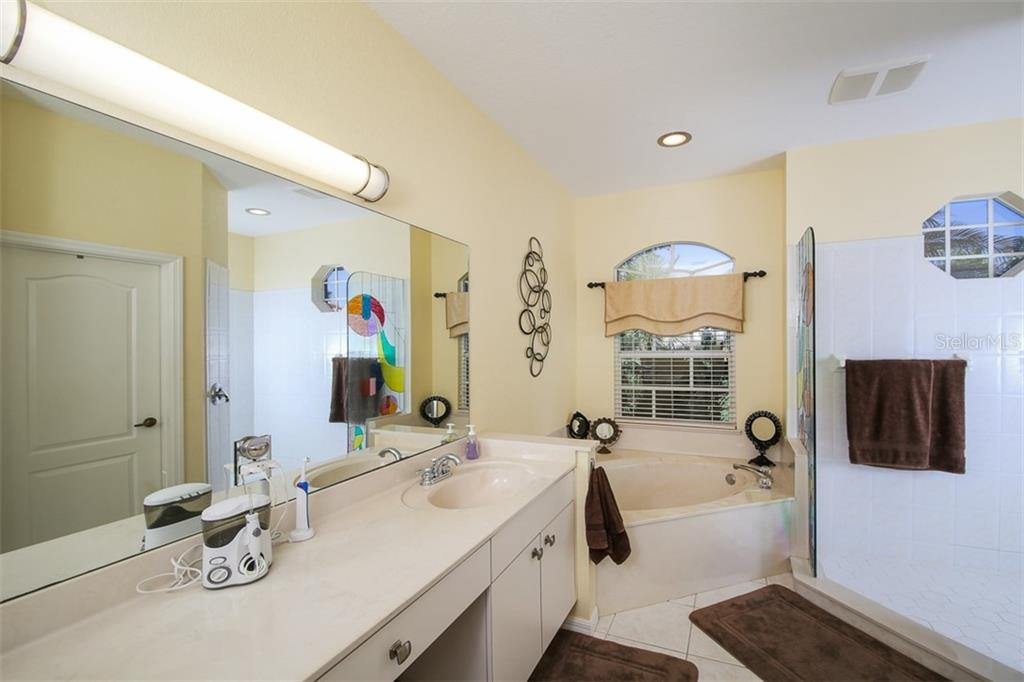 MASTER BATH - Single Family Home for sale at 2924 Phoenix Palm Ter, North Port, FL 34288 - MLS Number is D6101890