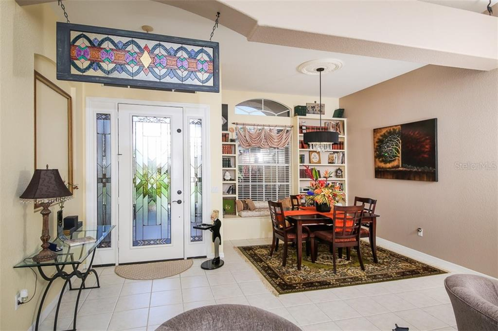 ENTRANCE AND DINING ROOM - Single Family Home for sale at 2924 Phoenix Palm Ter, North Port, FL 34288 - MLS Number is D6101890