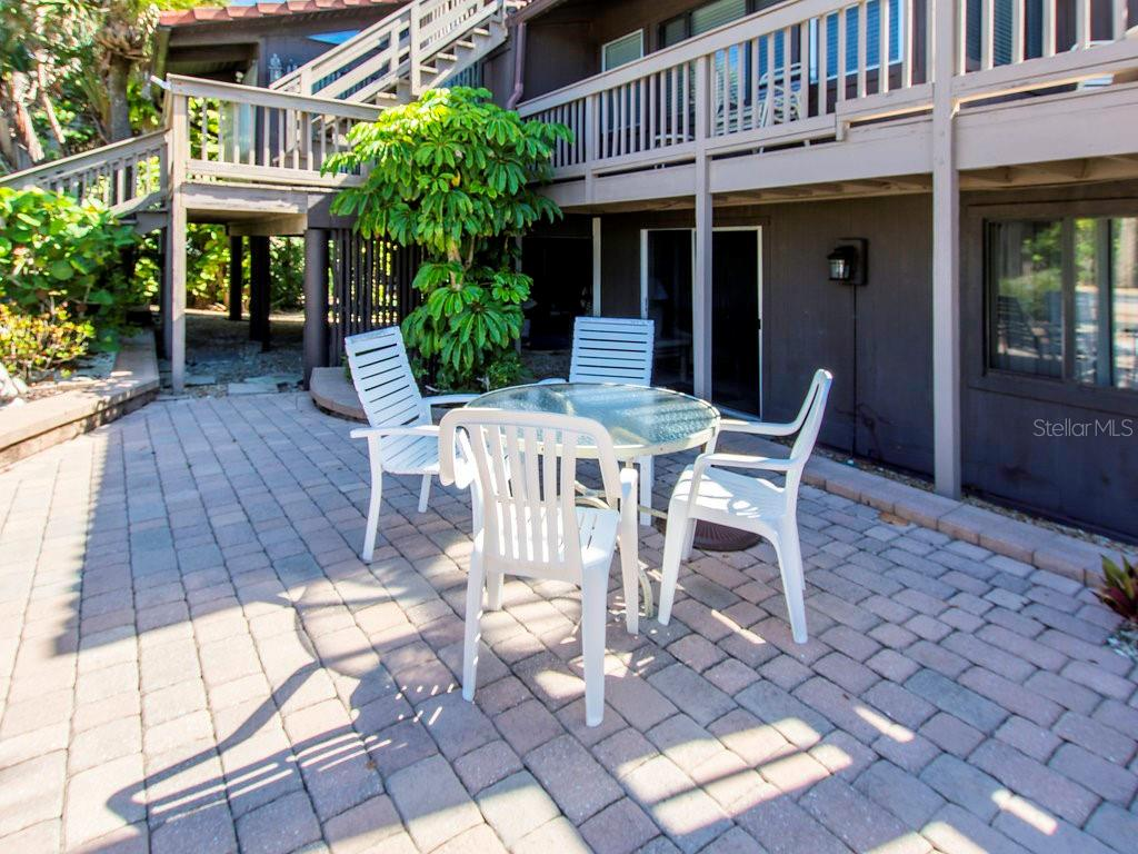 Access this patio right from your living room! - Condo for sale at 2980 N Beach Rd #c2-4, Englewood, FL 34223 - MLS Number is D6101944