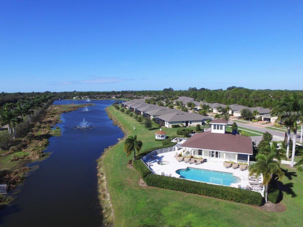 Community pool, social gathering clubhouse, walking distance to local YMCA and within minutes to all restaurants and stores. - Villa for sale at 29704 Niagara Ct, Englewood, FL 34223 - MLS Number is D6102386