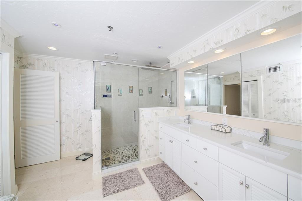 Master Bath-extensively modernized with steam shower - Condo for sale at 11000 Placida Rd #2103, Placida, FL 33946 - MLS Number is D6102674