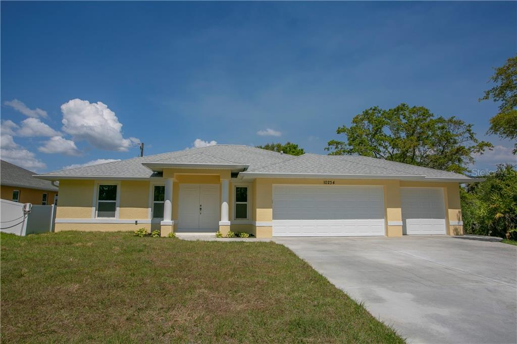 Recently completed similar model nearby - Single Family Home for sale at 10234 Bay Ave, Englewood, FL 34224 - MLS Number is D6102706