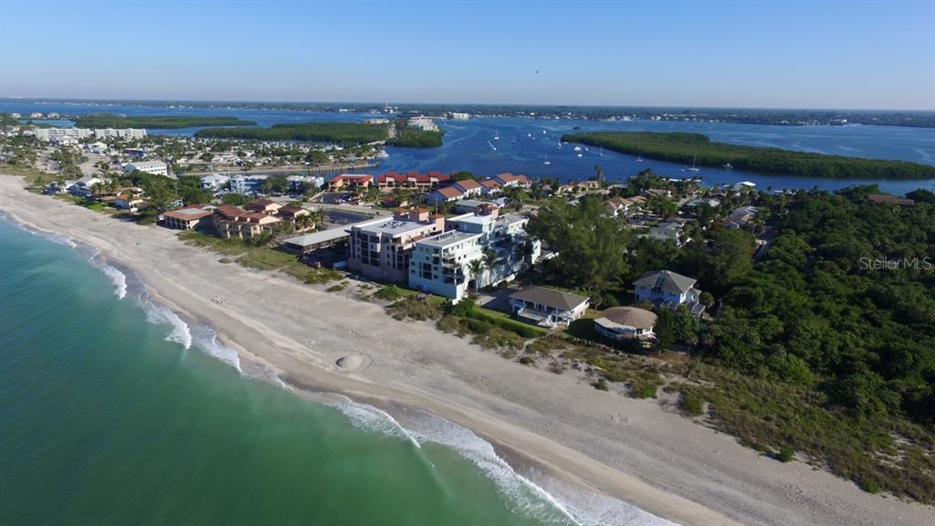 Beach Aerial - Condo for sale at 50 Meredith Dr #8, Englewood, FL 34223 - MLS Number is D6103644