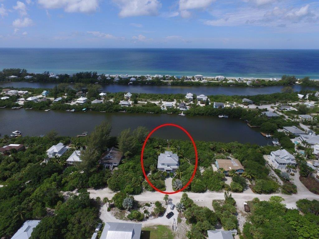 Front Aerial - Single Family Home for sale at 161 Kettle Harbor Dr, Placida, FL 33946 - MLS Number is D6104075