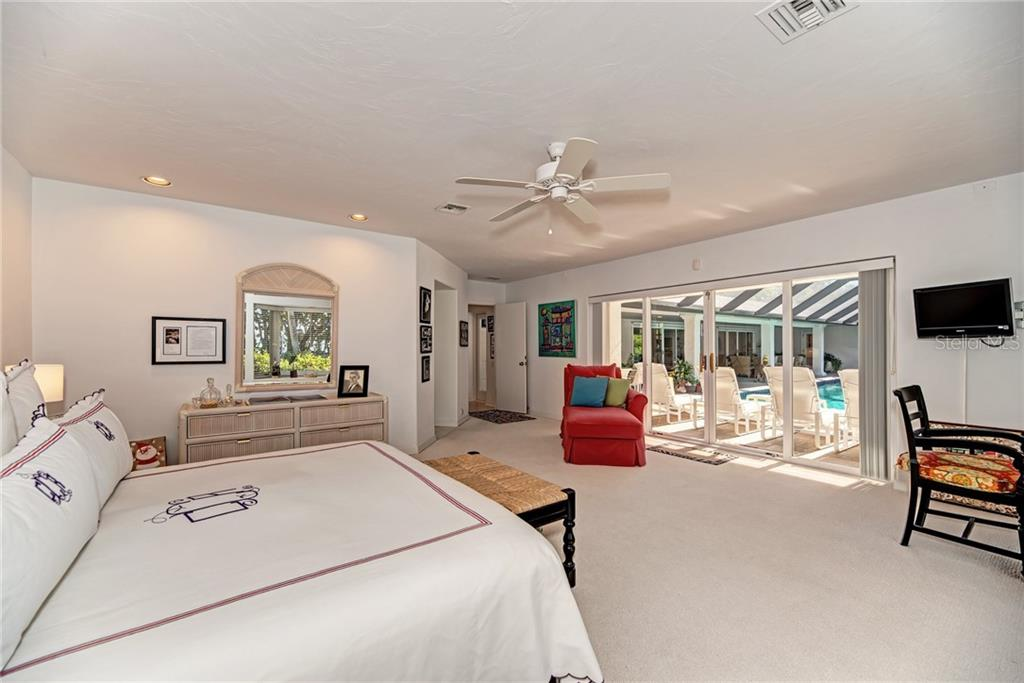 Master Bedroom - Single Family Home for sale at 7400 Manasota Key Rd, Englewood, FL 34223 - MLS Number is D6104362