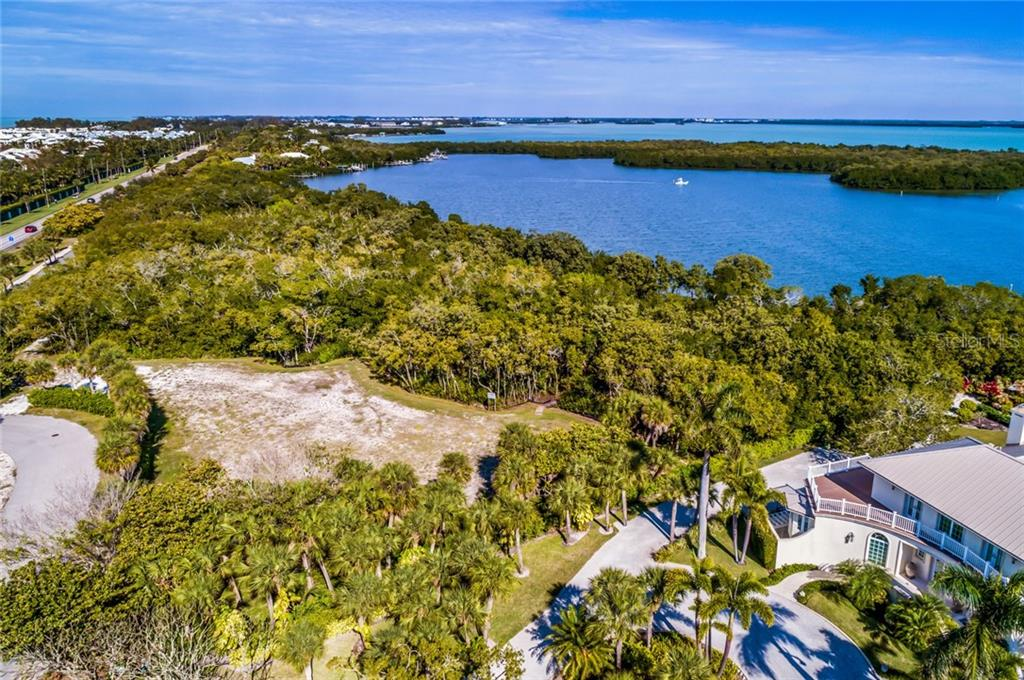 Aerial view - Vacant Land for sale at 5040 Grouper Hole Ct, Boca Grande, FL 33921 - MLS Number is D6104626