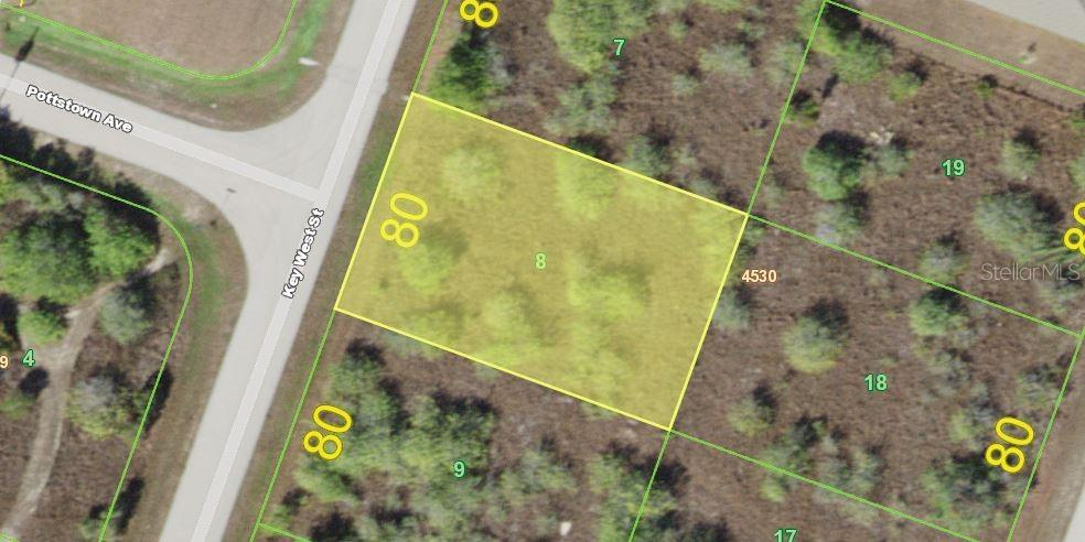 Vacant Land for sale at 9310 Key West St, Port Charlotte, FL 33981 - MLS Number is D6105572