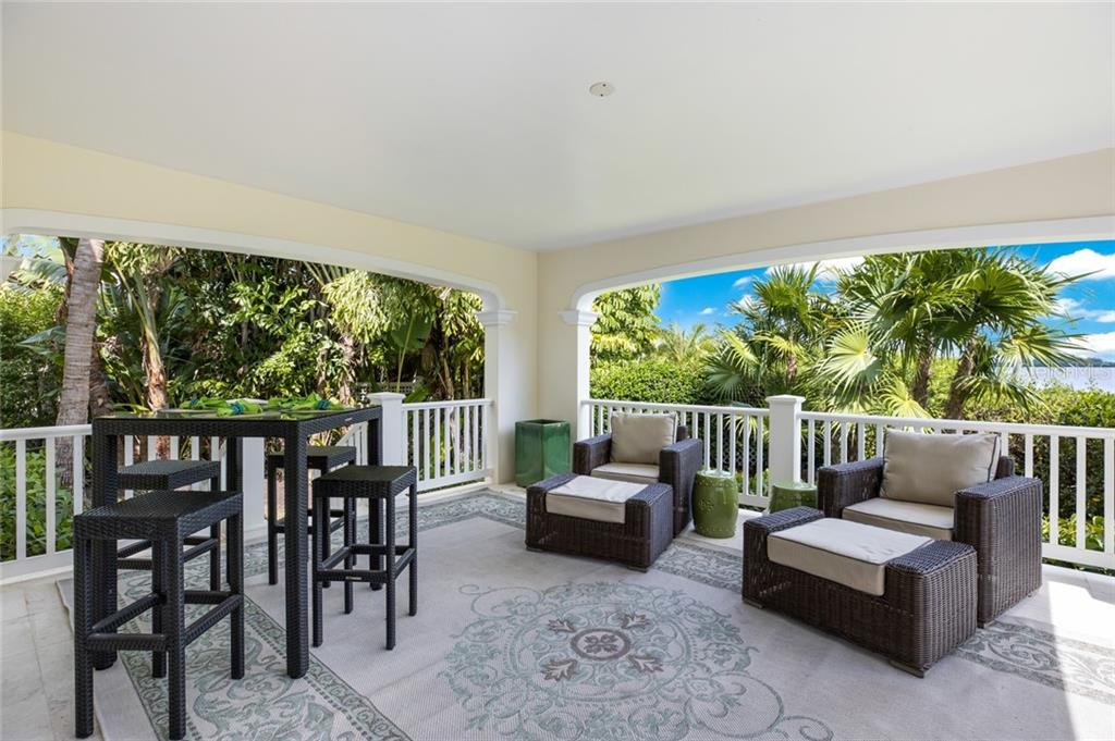 Covered terrace on first level - Single Family Home for sale at 1600 E Railroad Ave, Boca Grande, FL 33921 - MLS Number is D6108744
