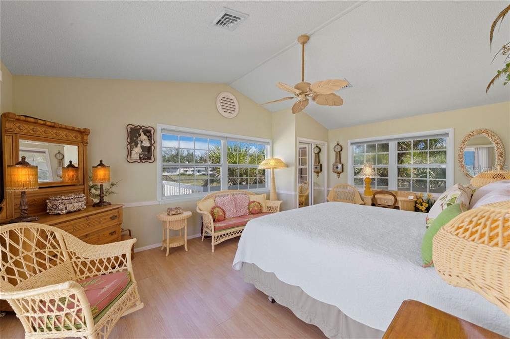 Master Bedroom - Single Family Home for sale at 8 Adele Way, Placida, FL 33946 - MLS Number is D6108747