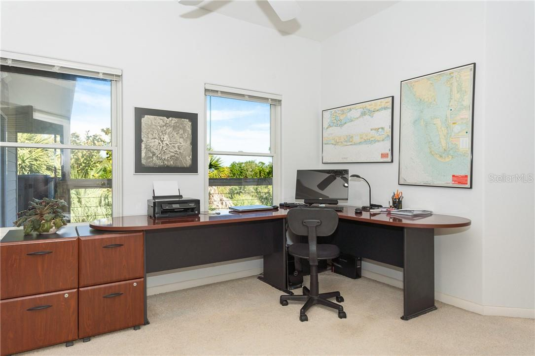 Office Area in Master Suite. - Single Family Home for sale at 5 Pointe Way, Placida, FL 33946 - MLS Number is D6110468