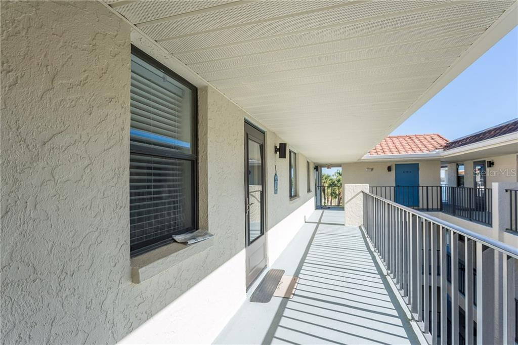 Top floor unit with easy access via elevator. - Condo for sale at 1551 Beach Rd #412, Englewood, FL 34223 - MLS Number is D6110828