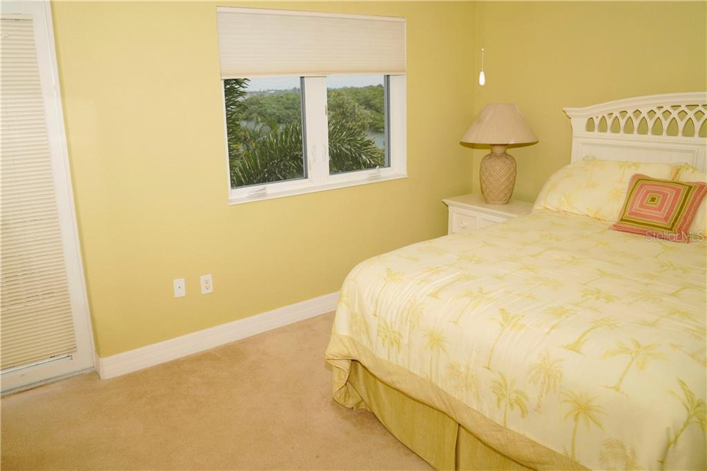 2nd bedroom w/view - Condo for sale at 2245 N Beach Rd #304, Englewood, FL 34223 - MLS Number is D6112346