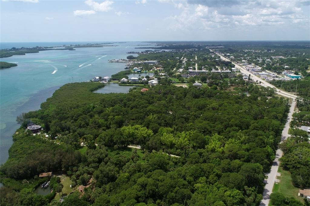 neighbor to north with 21 acres direct waterfront - Vacant Land for sale at 9427 Downing St, Englewood, FL 34224 - MLS Number is D6112667