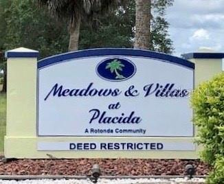 Welcome to the deed restricted community of Rotonda Meadows - Vacant Land for sale at 28 Calamondin Way, Placida, FL 33946 - MLS Number is D6113988