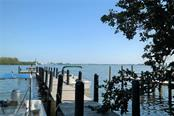 Boat dock. - Single Family Home for sale at 8384 Little Gasparilla Is, Placida, FL 33946 - MLS Number is D5922085
