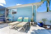 Sit in the sun and enjoy the Florida lifestyle on your private patio - Single Family Home for sale at 190 W Wentworth St, Englewood, FL 34223 - MLS Number is D6106918