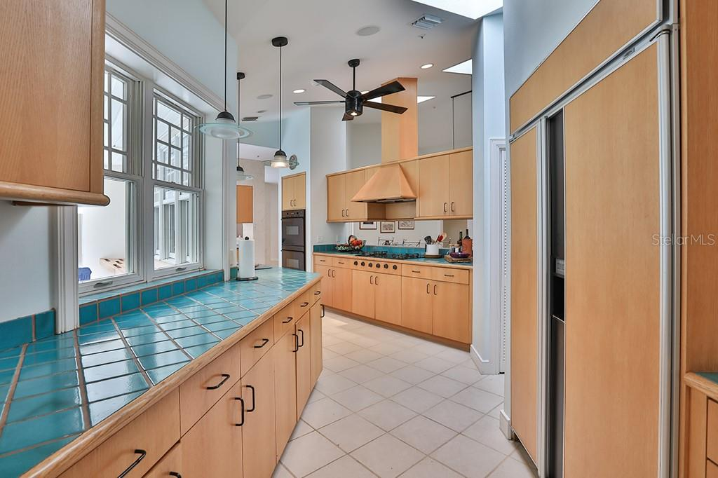 Second dining area overlooking the pool!   Can we say enjoy!  Relax and let the outside come in! - Single Family Home for sale at 1619 Gasparilla Rd, Bradenton, FL 34209 - MLS Number is T2860311