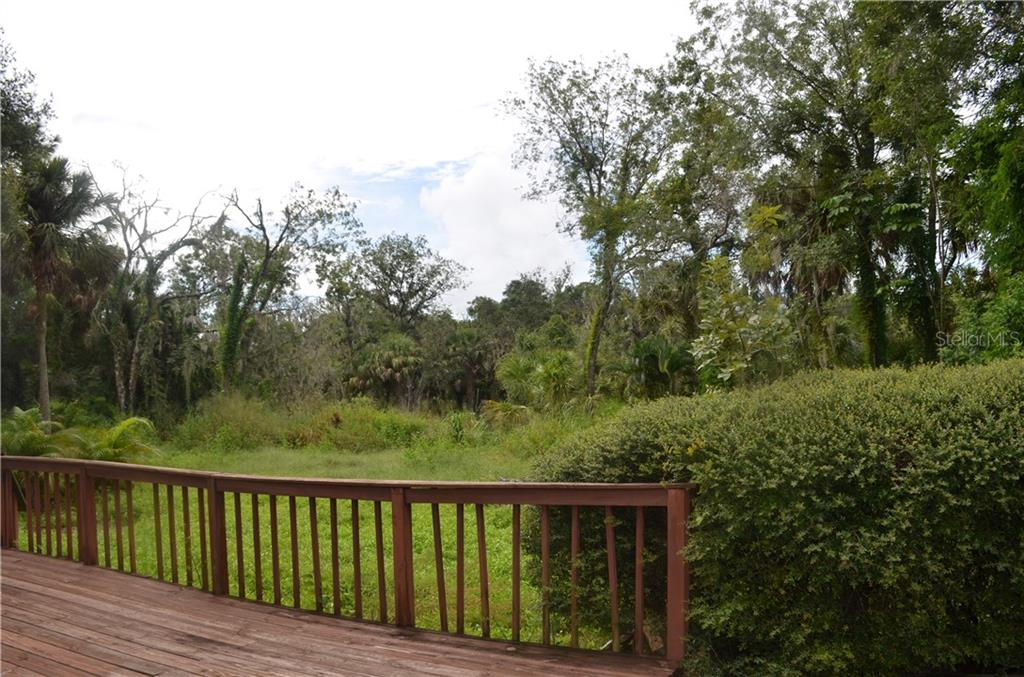 Rear yard - Single Family Home for sale at Address Withheld, Bradenton, FL 34202 - MLS Number is T3132327