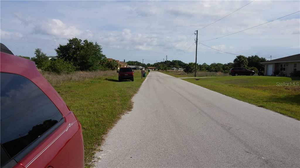 VIEW TO THE NORTH - Vacant Land for sale at 156 Flanders St, Port Charlotte, FL 33954 - MLS Number is C7224328