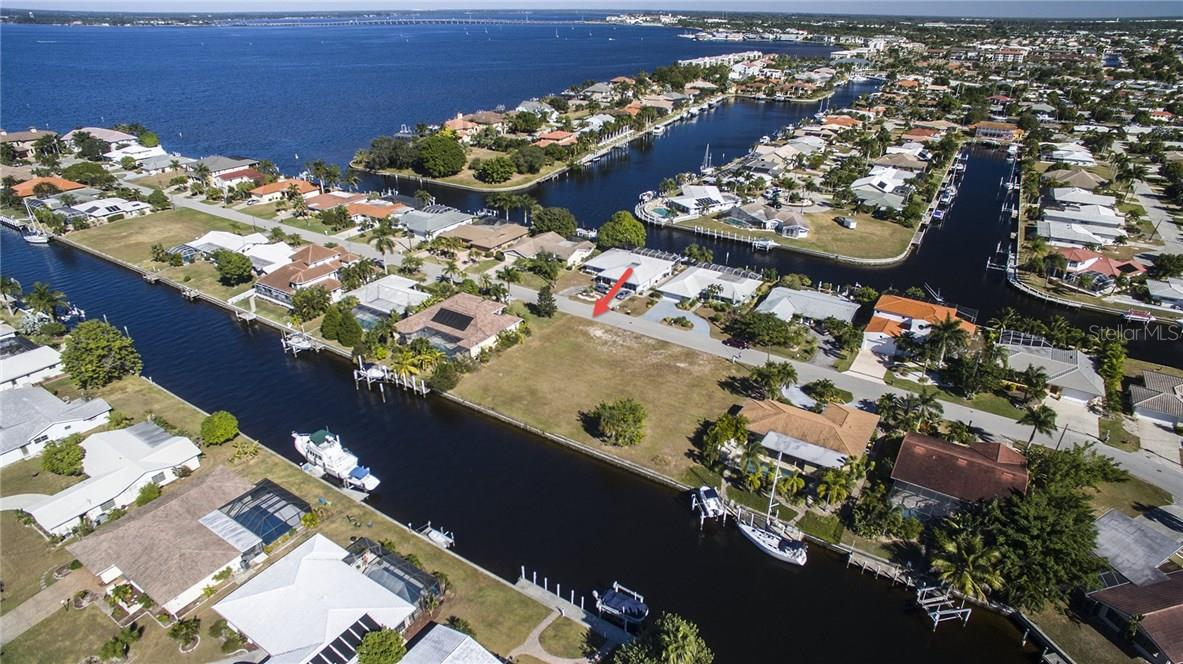 Two minutes out to Charlotte Harbor! - Vacant Land for sale at 2272 Palm Tree Dr, Punta Gorda, FL 33950 - MLS Number is C7232726