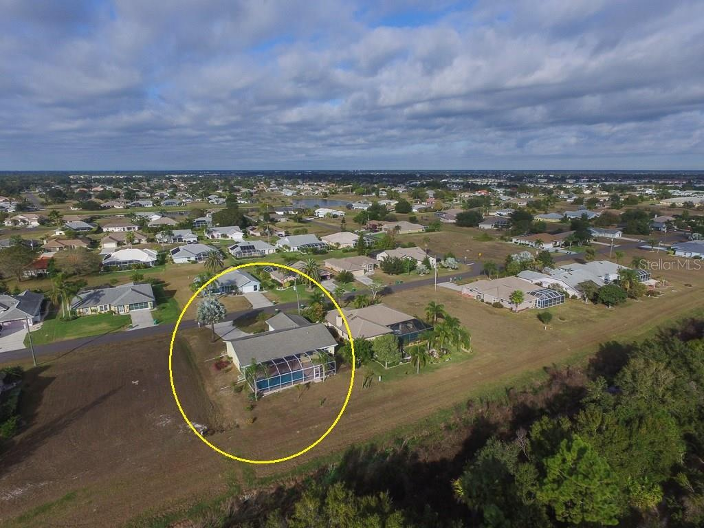 Fantastic location on the eastern edge of Deep Creek Section 23 with woods providing private backyard - Single Family Home for sale at 2332 Mauritania Rd, Punta Gorda, FL 33983 - MLS Number is C7234250