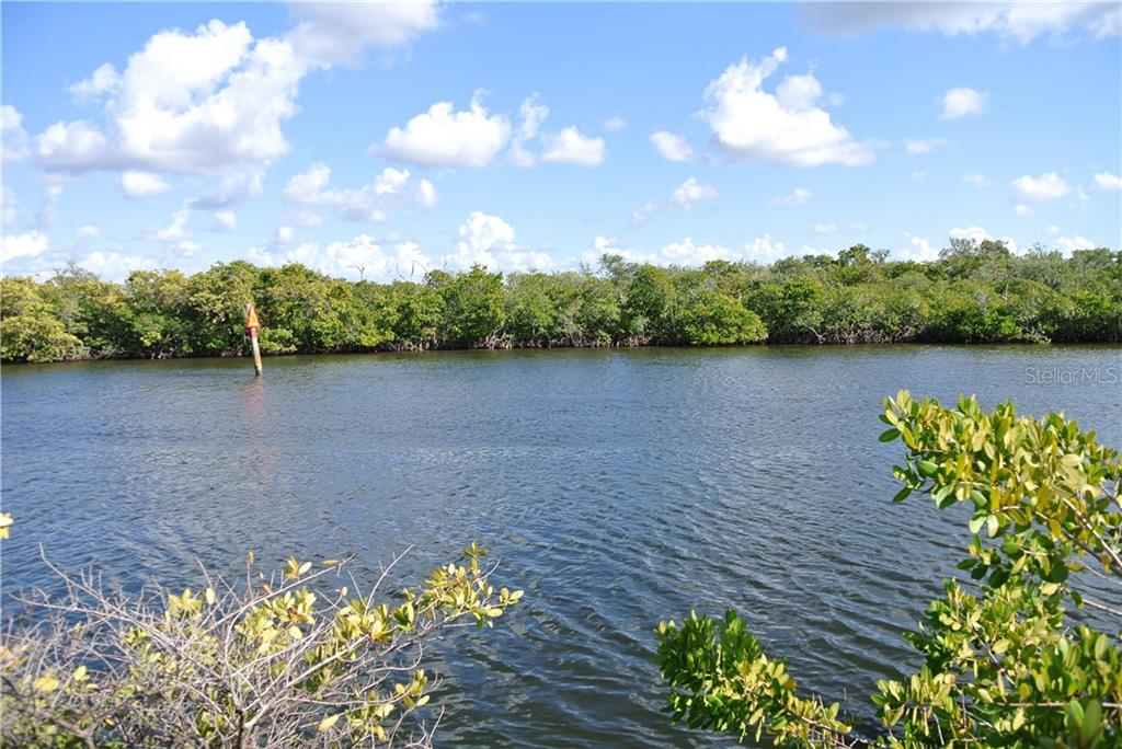 View of Alligator Creek channel - Vacant Land for sale at 4350 Deltona Dr, Punta Gorda, FL 33950 - MLS Number is C7235726