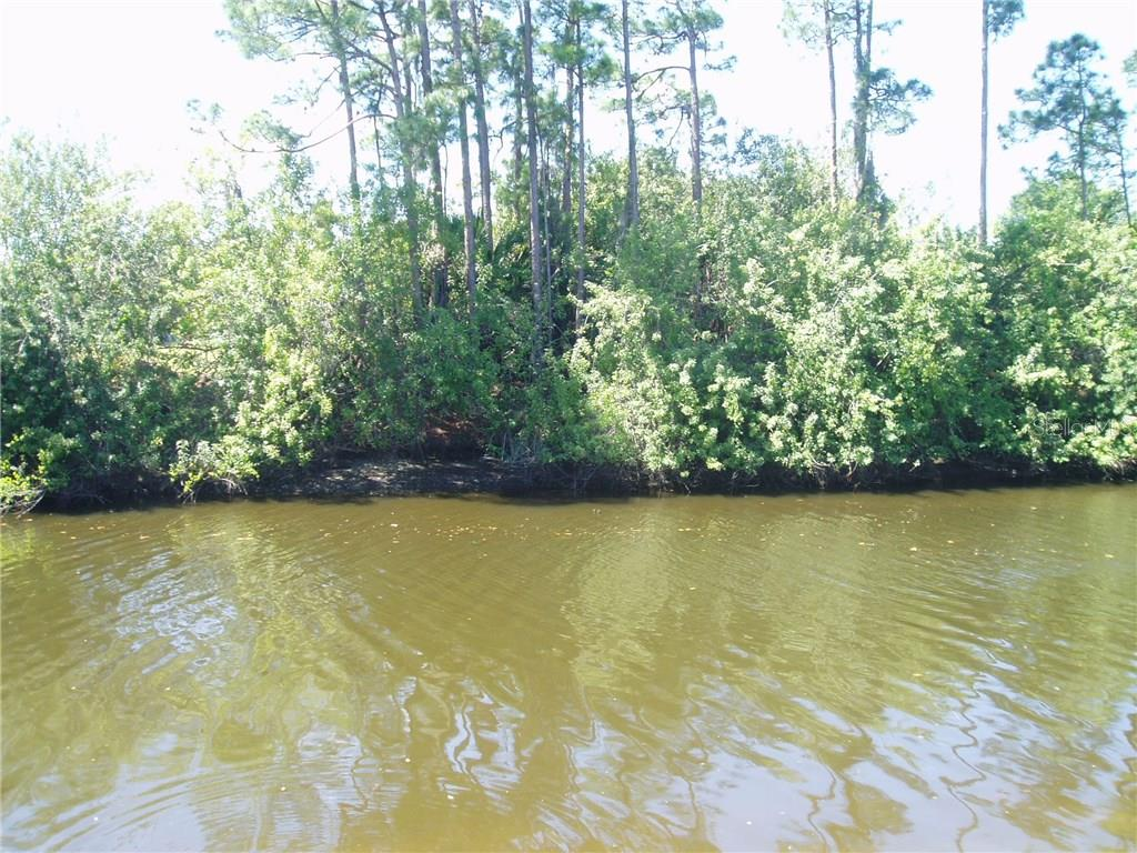 View from center back - Vacant Land for sale at 2533 Cannolot, Port Charlotte, FL 33948 - MLS Number is C7238098