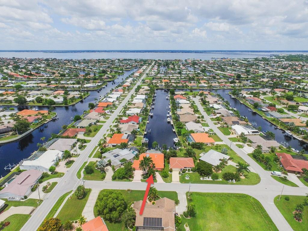 Gorgeous long canal view and a fast 10-15 minutes out to Charlotte Harbor! - Single Family Home for sale at 1620 Appian Dr, Punta Gorda, FL 33950 - MLS Number is C7242315