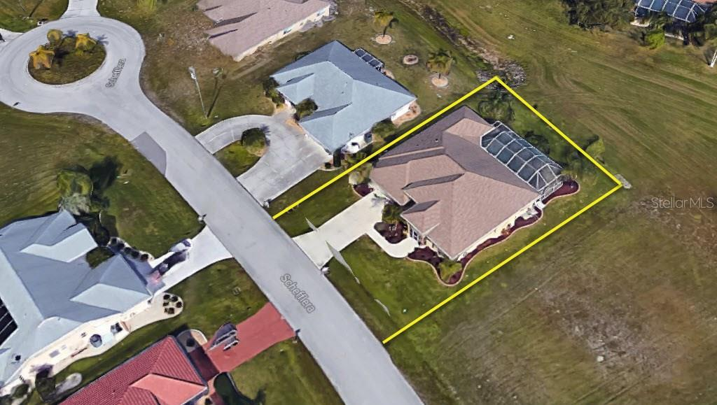 Aerial view of home - Single Family Home for sale at 7376 Schefflera, Punta Gorda, FL 33955 - MLS Number is C7245991