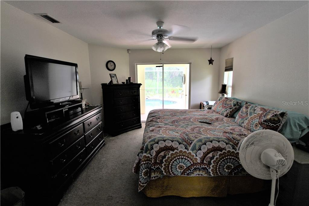 Master Bedroom - Single Family Home for sale at 4846 Weatherton St, North Port, FL 34288 - MLS Number is C7403500