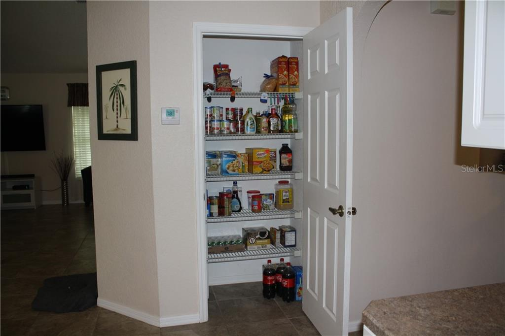 Pantry in kitchen. - Single Family Home for sale at 25378 Rupert Rd, Punta Gorda, FL 33983 - MLS Number is C7403652