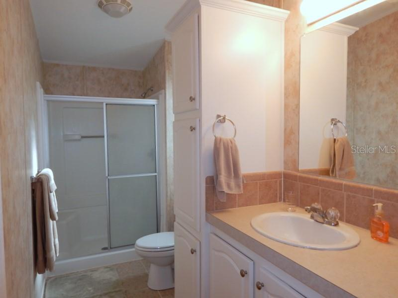 Master bath - Manufactured Home for sale at 66 Windmill Blvd, Punta Gorda, FL 33950 - MLS Number is C7405183