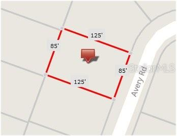 Plat Map - Vacant Land for sale at 15605 Avery Rd, Port Charlotte, FL 33981 - MLS Number is C7406067
