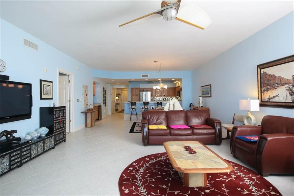 Main living area as you come in from the lanai. - Condo for sale at 3329 Sunset Key Cir #503, Punta Gorda, FL 33955 - MLS Number is C7406727
