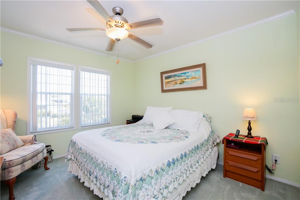 Guest Bedroom - Manufactured Home for sale at 10101 Burnt Store Rd #23, Punta Gorda, FL 33950 - MLS Number is C7413977
