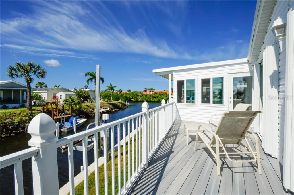 Overlooking the Water - Manufactured Home for sale at 10101 Burnt Store Rd #23, Punta Gorda, FL 33950 - MLS Number is C7413977