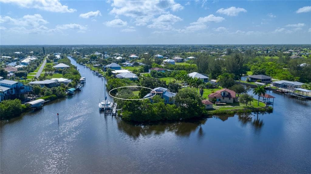 Truly an unbelievable location - imagine that home that you could built to enjoy a magnificent view - Vacant Land for sale at 24166 Henry Morgan Blvd, Punta Gorda, FL 33955 - MLS Number is C7417999