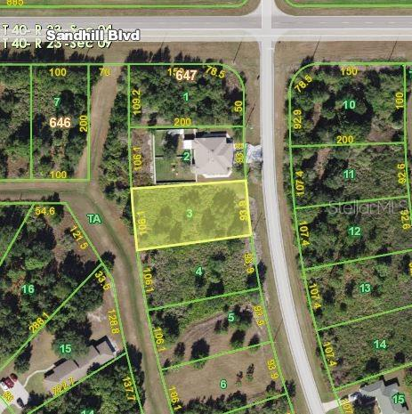 Vacant Land for sale at 1031 San Cristobal Ave, Punta Gorda, FL 33983 - MLS Number is C7419012