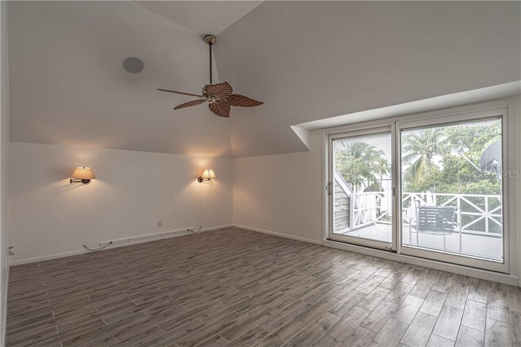 Upper Master #1 has a private 9x10 balcony - Single Family Home for sale at 124 Useppa Is, Captiva, FL 33924 - MLS Number is C7419408