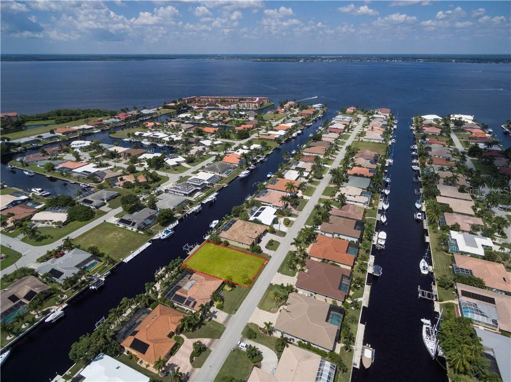 Amazing location to set sail in from the Peace River & Charlotte Harbor. - Vacant Land for sale at 53 Tropicana Dr, Punta Gorda, FL 33950 - MLS Number is C7420346