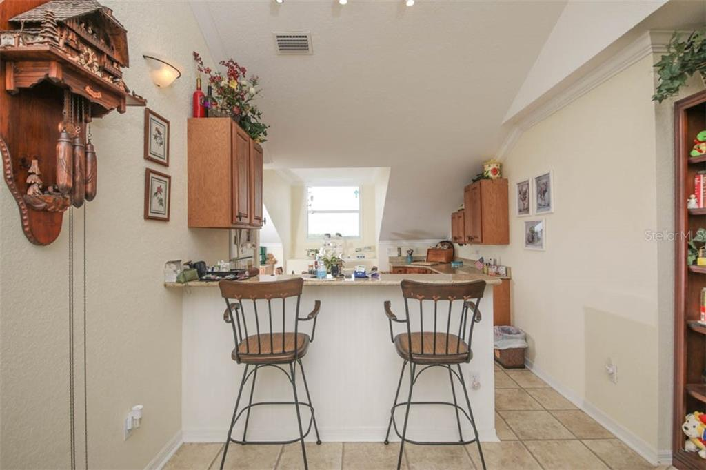 Pictured and furnished/equipped as in-law suite kitchen by previous owners. - Condo for sale at 4410 Warren Ave #511, Port Charlotte, FL 33953 - MLS Number is C7432222