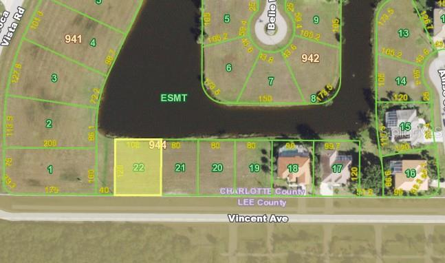 Seller's Property Disclosure - Vacant Land for sale at 23926 Vincent Ave, Punta Gorda, FL 33955 - MLS Number is C7435546