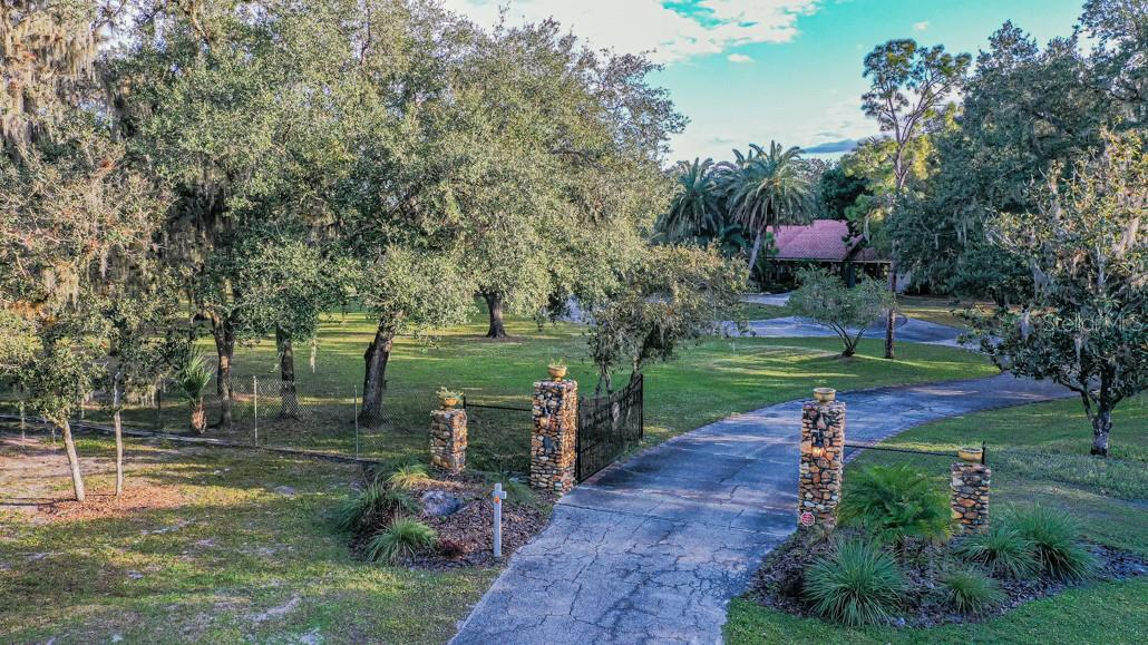 Entry to Property - Single Family Home for sale at 1 Woodland Dr, Punta Gorda, FL 33982 - MLS Number is C7436906