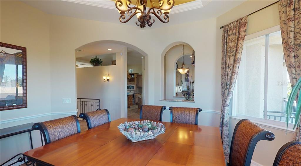 2nd floor dining room. - Single Family Home for sale at 4245 Spire St, Port Charlotte, FL 33981 - MLS Number is C7437570