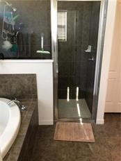 Master Bath with separate shower - Single Family Home for sale at 24380 Westgate Blvd, Port Charlotte, FL 33980 - MLS Number is C7408906